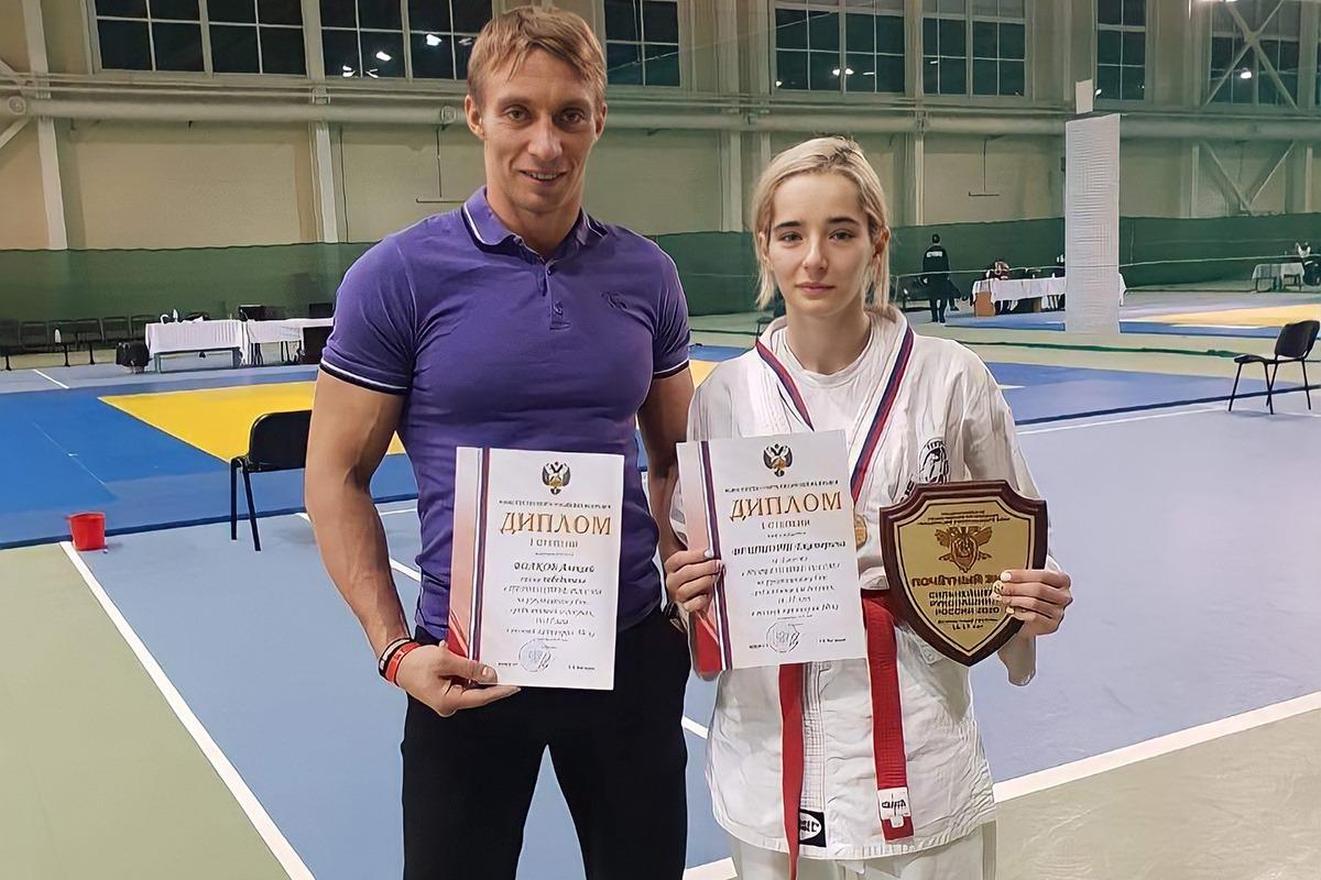 Бойцы рукопашного стиля из Калининграда завоевали пять медалей первенства России