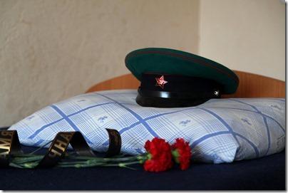 Погибший пограничник навечно внесен в список подразделения