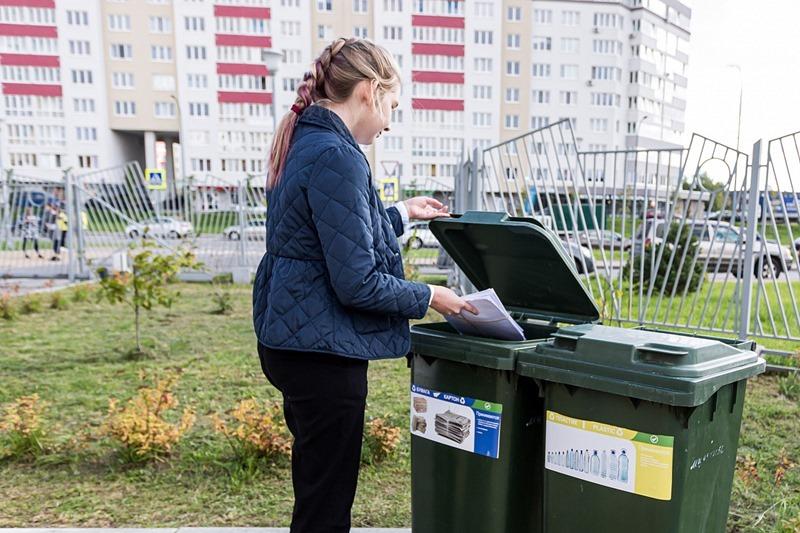 Школьников Калининградской области приучают к раздельному сбору отходов